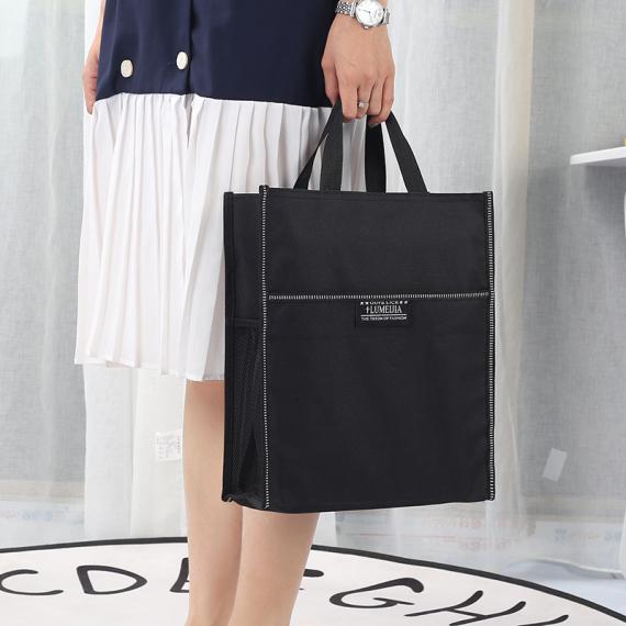 升级版补习袋手提袋学生书袋单位广告礼品包免费印字购物包厂家文件袋